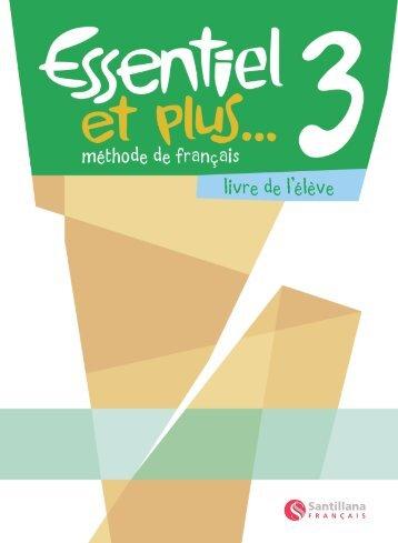Livre de l'élève 3 Démo - Santillana Français