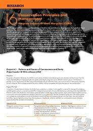 Program 6 - Rainforest Cooperative Research Centre