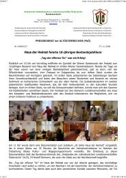 PA2006-17_Haus der Heimat feierte 10-jähriges Bestandsjubiläum