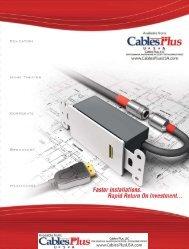 2007_RapidRun_brochu.. - Cables Plus USA