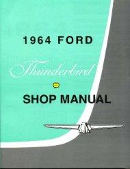 DEMO - 1964 Ford Thunderbird Shop Manual - ForelPublishing.com