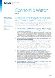 As RMB internationalization - BBVA Research