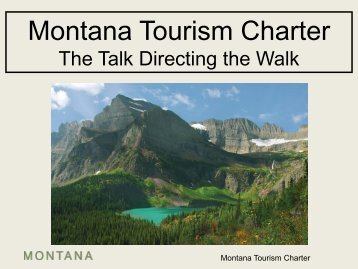 Montana Tourism Charter - Montana Office of Tourism