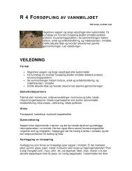 VEILEDNING - Nettverk for miljølære