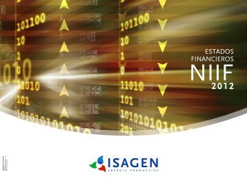 Estados financieros NIIF 2012 - Isagen