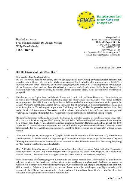 Offener Brief Merkel Endfassung 1 Layout 1 Deutschlandwoche