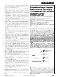 Saetre et al 1997 - Botany, Department of