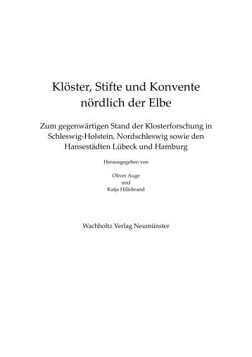 Klöster, Stifte und Konvente nördlich der Elbe