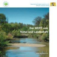 Der WERT von Natur und Landschaft - Verband der ...