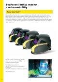 Svařovací kukly, masky a ochranné štíty - AB technika pro svařování - Page 6