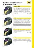 Svařovací kukly, masky a ochranné štíty - AB technika pro svařování - Page 7