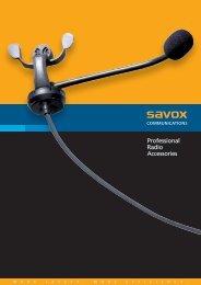 Savox Product Brochure 2009.indd - Icom France