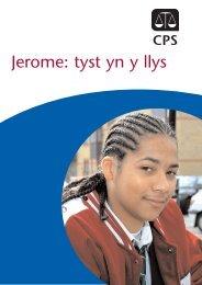 Jerome: tyst yn y llys