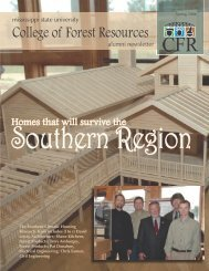 Spring 2006 - College of Forest Resources - Mississippi State ...