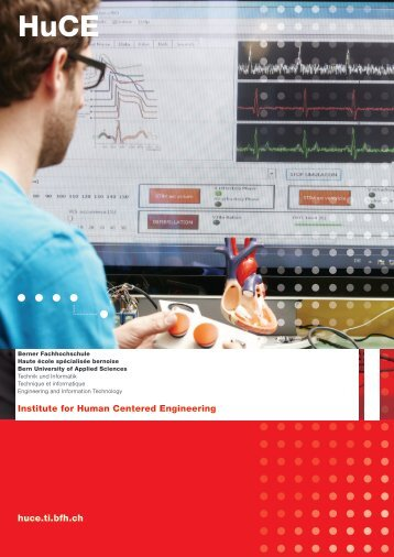 HuCE Flyer - microLab - Berner Fachhochschule