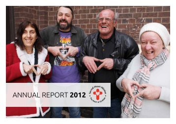 AnnuAl RepoRt 2012 - Sacred Heart Mission