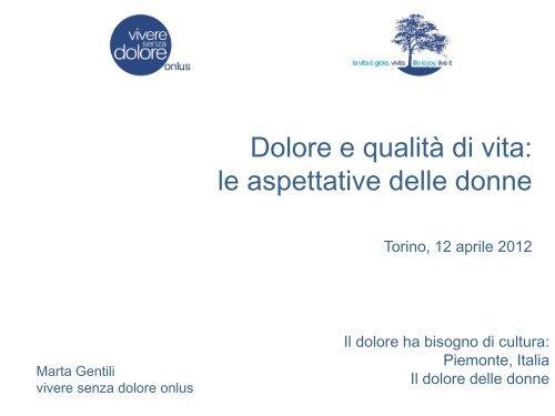 slide Dott.ssa Marta Gentili - Consiglio regionale del Piemonte