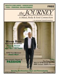 July-August 2004 - The Journey Magazine