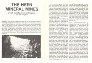 The Heen Mineral mines-om bly og sinkgruvene på Vaagaard - NAGS