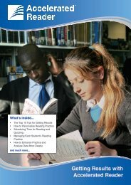 Getting Results with Accelerated Reader - Renaissance Learning