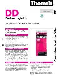 Technisches Merkblatt DD - allfloors