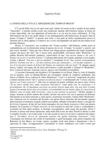 Guglielmo Peralta LA POESIA DELLA VITA E L ... - Poiein