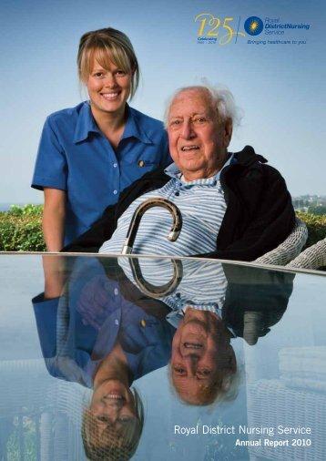 RDNS 2010 Annual Report - Royal District Nursing Service