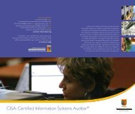 CISA: Certified Information Systems Auditor® - Strathmore University