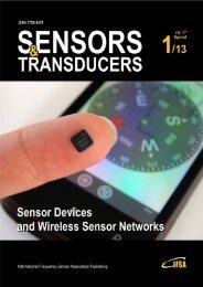 Editorial - International Frequency Sensor Association