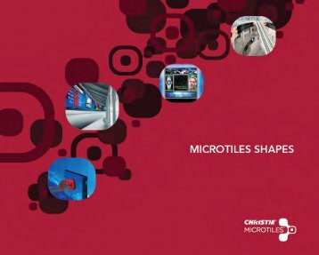 to download the Christie Digital MicroTiles shapes brochure .pdf.