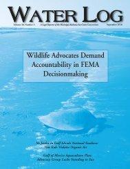 Water Log 30.3 - Mississippi-Alabama Sea Grant Legal Program
