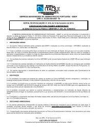 Convocação para Exames Admissionais