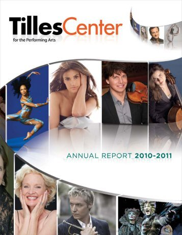 2010–11 CO n T r IBUTO r S - Tilles Center for the Performing Arts