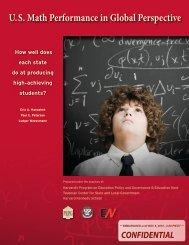 U.S. Math Performance in Global Perspective - Eric A. Hanushek ...