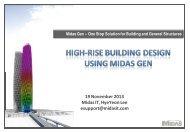 High-Rise Building Design Using Midas Gen