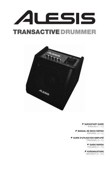 TransActive Drummer Quickstart Guide - RevD