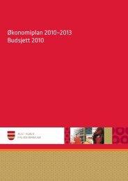 Økonomiplan 2010–2013 Budsjett 2010 - Aust-Agder fylkeskommune