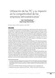 Utilización de las TIC y su impacto en la competitividad de las ...