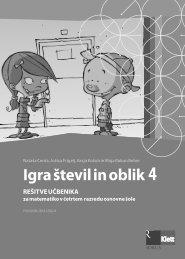 (posodobljena izdaja 2009) - rešitve učbenika