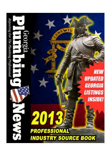 Georgia Plumbing News: 2013 Industry Source Book