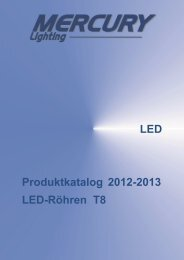 LED Produktkatalog LED-Röhren T8 2012-2013 - Photolight