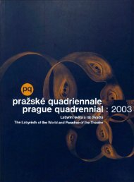 KATALOG (ke stažení) - Prague Quadrennial