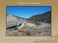 Tijeras Canyon - Institute for Transportation Research and Education