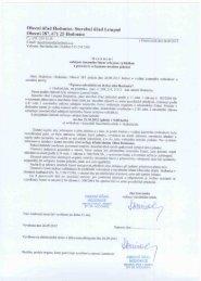 Obecní úřad Hodonice, Stavební úřad l.stupně - Obec Hodonice