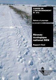 Réseau Ecologique National Suisse - Fédération des parcs naturels ...