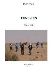 DOF Travel TUNESIEN Marts 2010