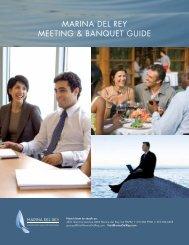 MARINA DEL REY MEETING & BANQUET GUIDE