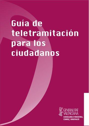 Guía de teletramitación para los ciudadanos