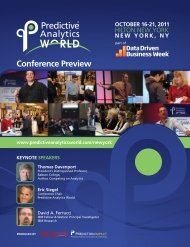 Download the PAW Conference Preview Guide - Predictive ...