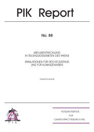 Complete document (3.4 MB) - Potsdam Institute for Climate Impact ...